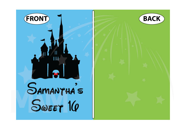 Sweet 16 Shirt With Disney Castle And Custom Name married with mickey