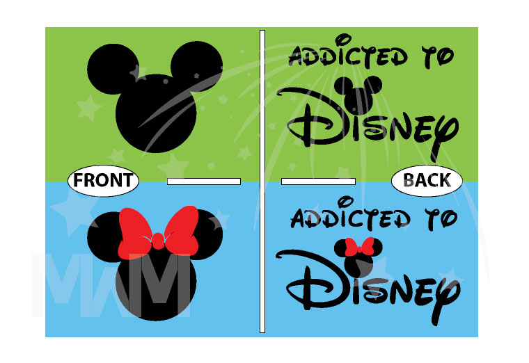 Cute Addicted To Disney Mickey Minnie Heads Minnie Bow married with mickey