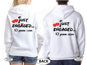 Disney Kissing Mickey Minnie Mouse Just Engaged.. 10 years later married with mickey white sweaters
