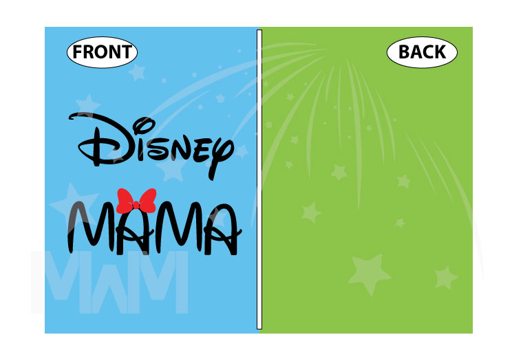 Disney Mama, ladies and mens cut shirts, pick any style and apparel color married with mickey