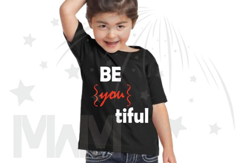Be you tiful Beautiful Cute Shirt Toddler Sizes Married With Mickey black tshirt