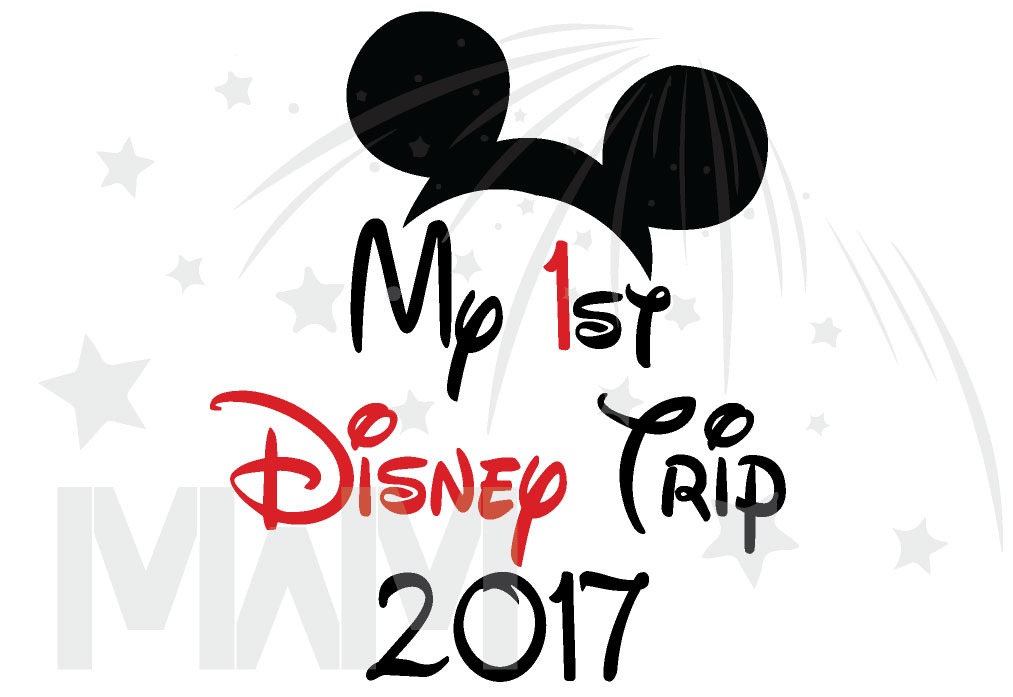 41c00dfd My 1st First Disney Trip 2017 Boy's Toddler Sizes Married With Mickey