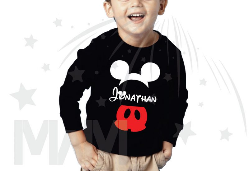 Mickey Mouse Costume Mickey Pants Mickey Ears With Custom Name Toddler Sizes married with mickey black sweater