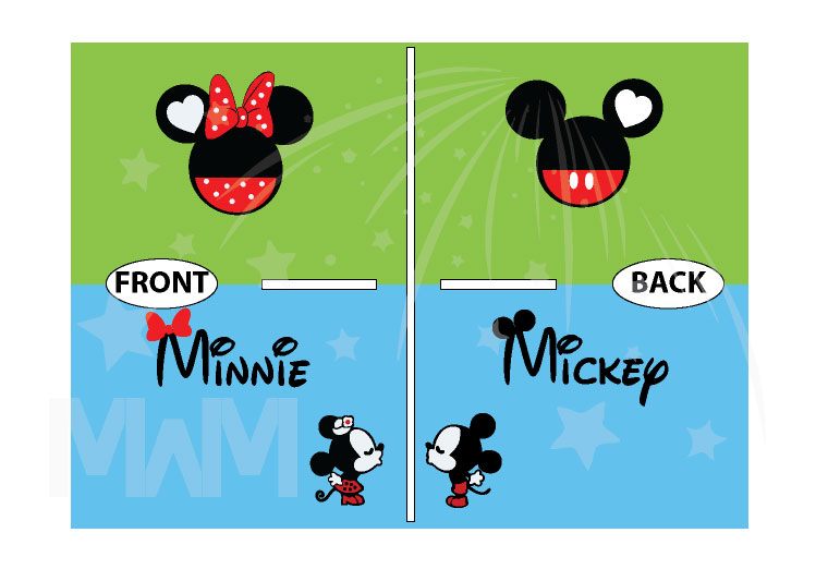 Mickey Minnie Super Cute Disney Matching Couple Shirts, Mix and Match Styles, Add Rhinestones (free, optional) married with mickey