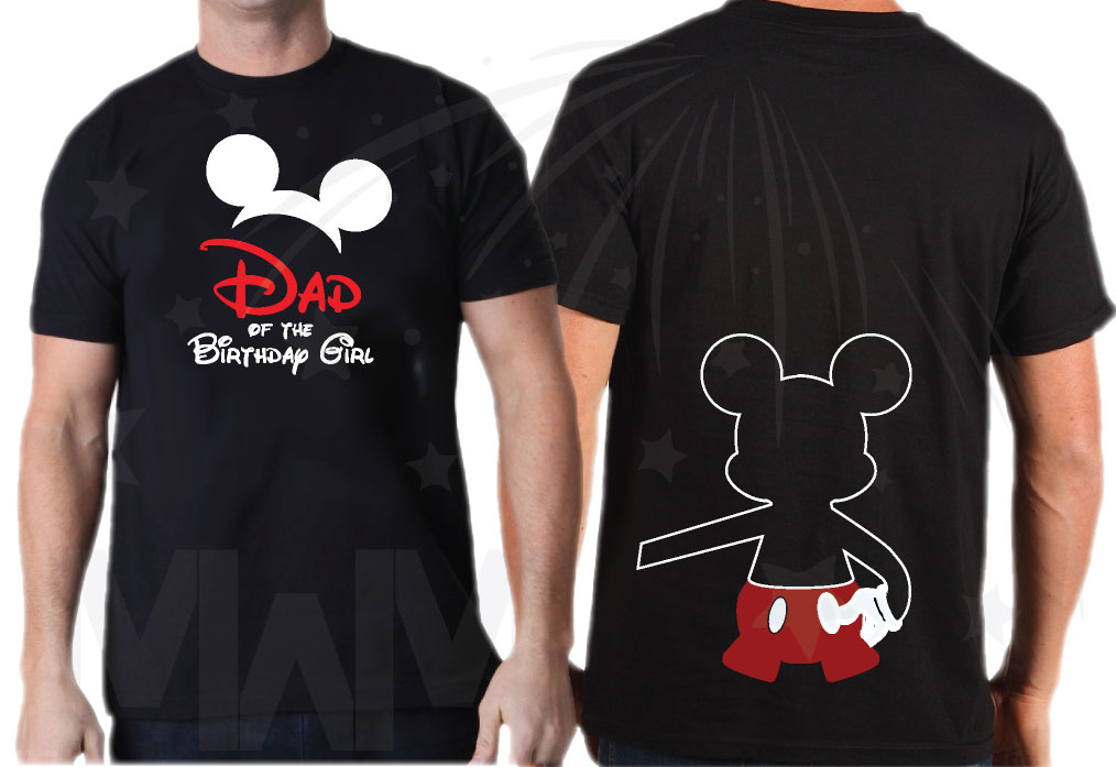 330d39f0 Disney Family Shirts Birthday Girl (Boy) Shirt, Mom Dad Sister Best Friend  Of