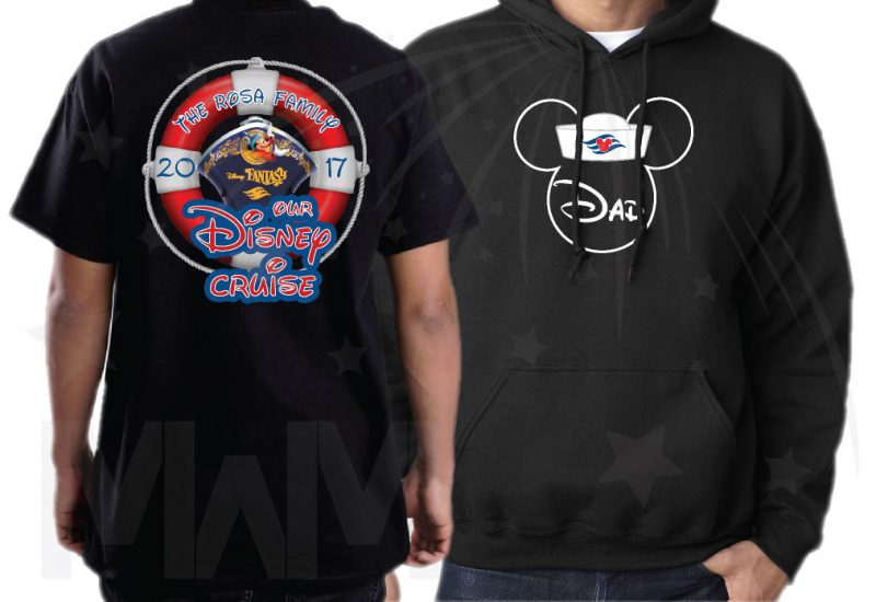 Disney Family Cruise Matching Shirts Mickey Minnie Mouse Heads, Our Disney Cruise, Disney Fantasy married with mickey black hoodie and tshirt