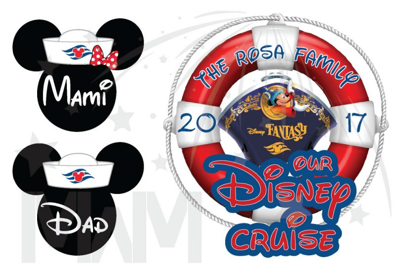 Disney Family Cruise Matching Shirts Mickey Minnie Mouse Heads, Our Disney Cruise, Disney Fantasy married with mickey