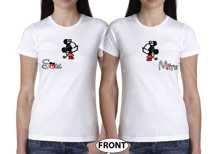 LGBT Lesbian Soul Mate Hey Minnie You're So Fine Minnie You Blow My Mind married with mickey mwm white tshirts