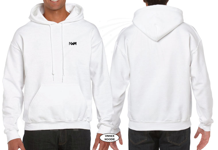 married with mickey white pullover hoodie g185 gildan
