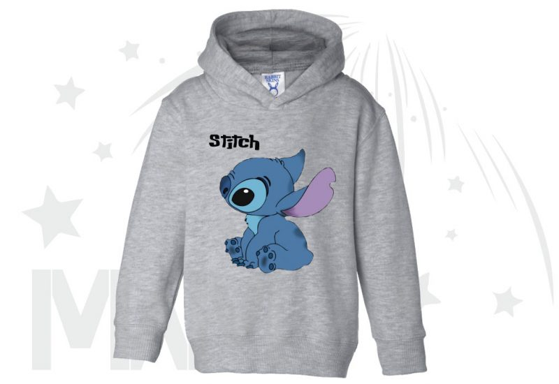 Stitch Ohana Means Family (500424) married with mickey grey hoodie