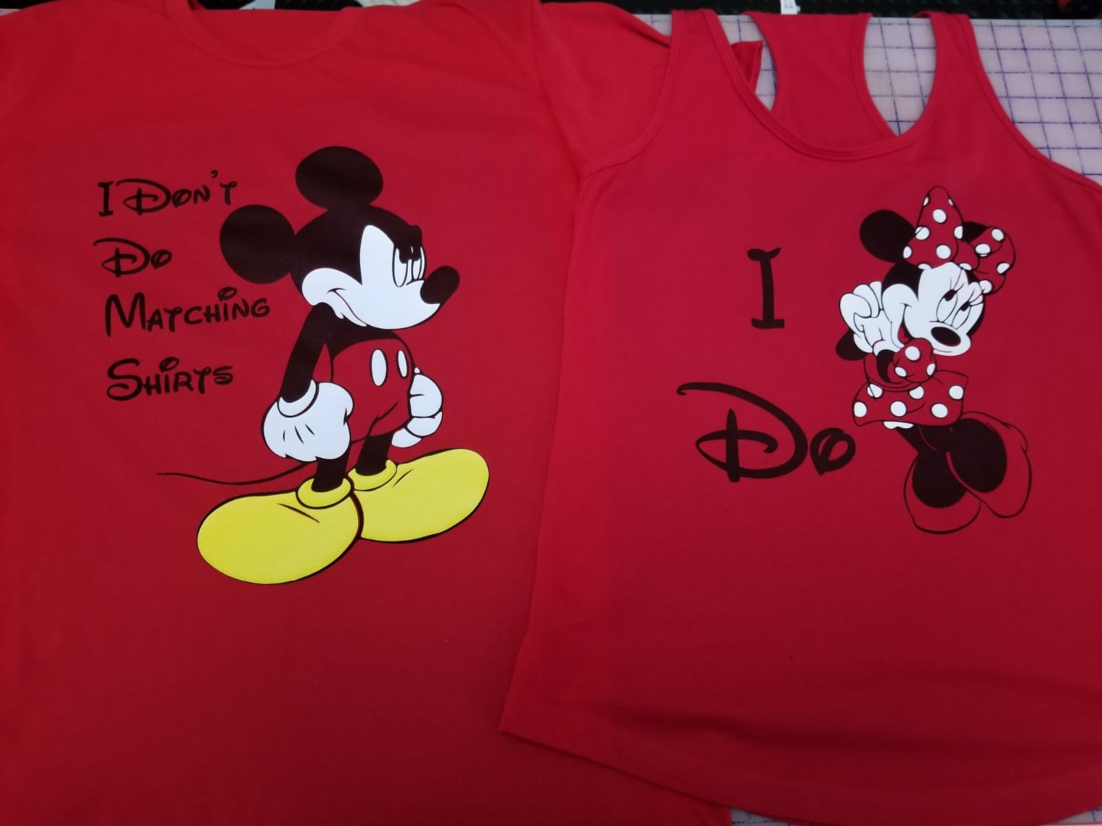 57903d3b40 Funny matching Disney shirts, I Don't Do Matching Shirts Angry Mickey  Mouse, I do Minnie Mouse