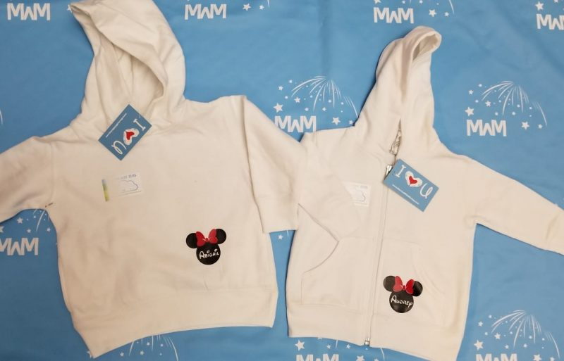 Big Sis Lil Sis Disney Family Shirts With Custom Names, married with mickey, white kids sizes pullover hoodies