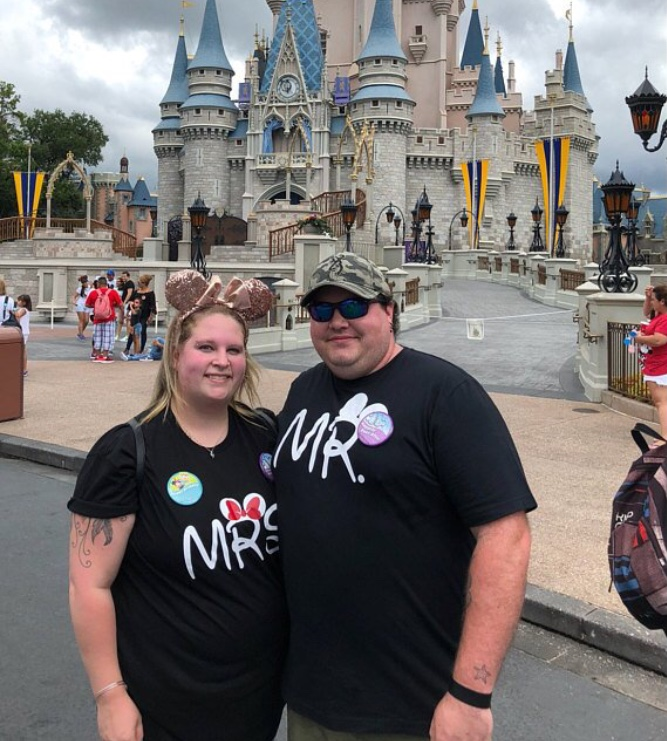 Mr and Mrs Shirts With Last Name and Wedding Date married with mickey black tshirts
