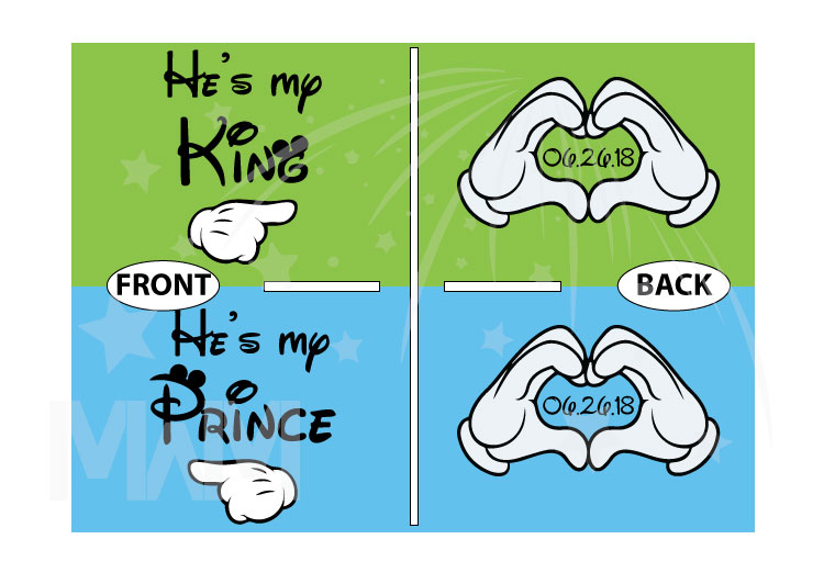 KingHe's myHe's myPrince married with mickey