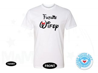 Future Wifey Disney Design, Mrs Shirt, Next Level Premium Fitted Sueded Super Soft Crewneck, Married With Mickey 500059am