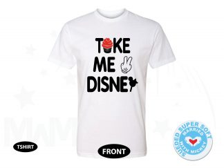 Take Me To Disney, Next Level Premium Fitted Sueded Super Soft Crewneck, Married With Mickey 500380am