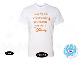 I Just Want To Drink Pumpkin Spice Lattes And Go To Disney, Next Level Premium Fitted Sueded Super Soft Crewneck, Married With Mickey 500385am