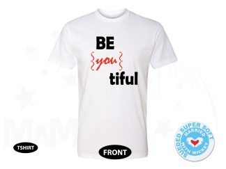 Be you tiful Beautiful Cute Shirt, Next Level Premium Fitted Sueded Super Soft Crewneck, Married With Mickey 500404am