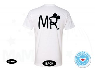 Mr Shirt, Mickey Mouse Ears, Next Level Premium Fitted Sueded Super Soft Crewneck, Married With Mickey 500448am