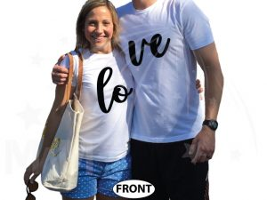 Love Matching Couple Shirts married with mickey cutest matching couple white tshirts