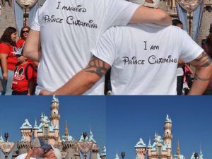 LGBT Gay Soul Mate Love Matching Shirts, I Married Prince Charming, I am Prince Charming, married with mickey