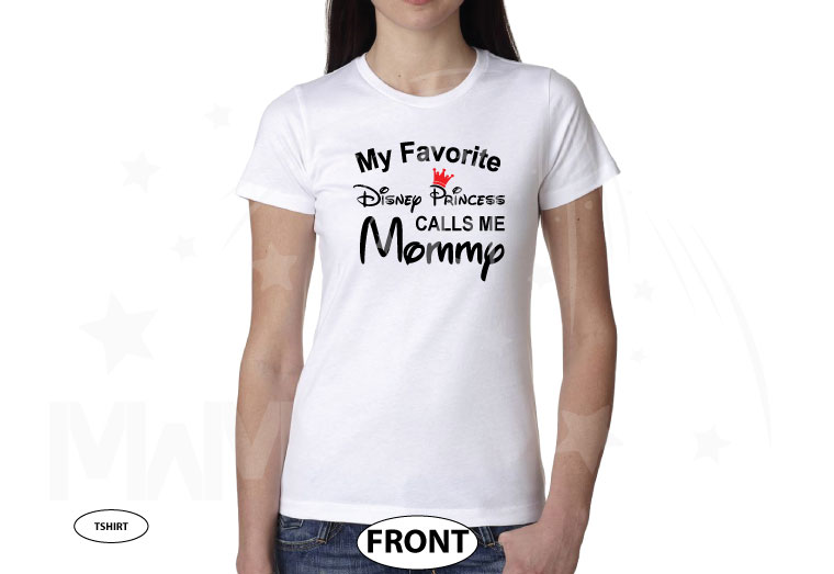 Disney Mom shirt perfect gift for her Minnie Mouse Mom My favorite Princess is my daughter calls me mommy tshirt cinderella queen tshirts a, married with mickey, white ladies tshirt