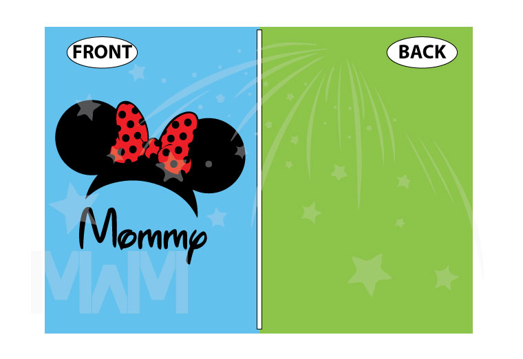 Shirt for Mommy mens and ladies styles with Minnie Mouse Head Ears cute red polka dots Bow, married with mickey