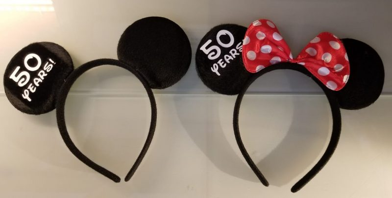 Custom set of Mickey and Minnie matching Ears Walt Disney World party his hers black gift idea bridesmaid surprise add personalize name on