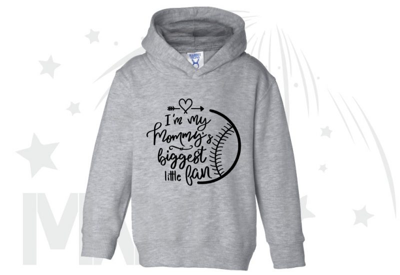 I'm my mommy's biggest fan, married with mickey, grey toddler pullover hoodie
