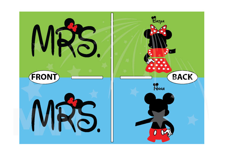 Great gift idea for anniversary LGBTQ Lesbian matching couple shirts future Mrs with Mickey and Minnie Mouse with cute red bow holding hands, married with mickey